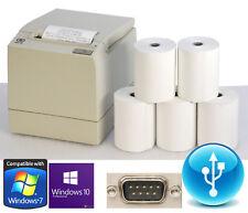 USB RS-232 POS PRINTER KASSENDRUCKER BONPRINTER NCR-7197 F. WIN 7 XP +5xBONROLLS