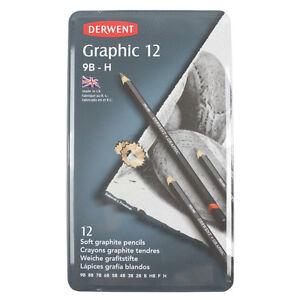 Derwent Graphic 12 Soft Set