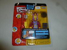 NEW ON CARD THE SIMPSONS NUMBER ONE FIGURE SERIES 12 INTELLI-TRONIC PLAYMATES >>
