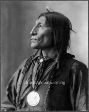 "Photo 1890s Cheyenne Indian ""Chief Wolf Robe"""