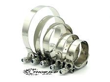 Fascette metalliche Stringitubo Rinforzate in acciaio inox con bullone t-bolt