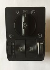 Vauxhall Corsa C Headlight switch with Front And Rear Fog light switch button