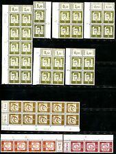 Bund 1960 347-353 ** STAMPANTE caratteri raccolta ca € 900 (z0408