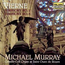 Michael Murray - Organ Symphonies 1 & 3 [New CD]