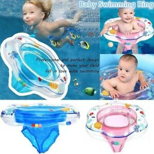 Baby Inflatable Float Swimming Ring Trainer Safety Aid Pool BSwimming Seat Float
