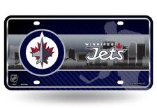 Winnipeg Jets Logo NHL 12x6 Auto Metal License Plate Tag CAR TRUCK