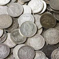 1878-1921 AVG CIRCULATED Silver Morgan Dollar Rare US Old Antique Coin Lot