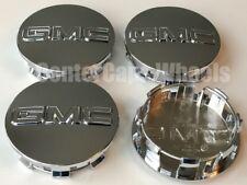 "2014-2018 GMC Sierra 1500, Yukon, Yukon XL CHROME CENTER CAPS 20""-22"" Wheels"