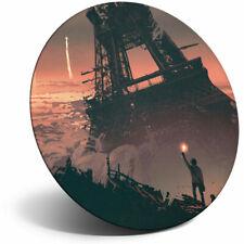 Awesome Fridge Magnet - Paris Eiffel Tower Fantasy Art Cool Gift #14089