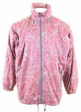 K-WAY Mens Rain Jacket Size 40 Large Red Nylon FP14