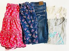 Girls Clothing Lot Bundle Size 10 Boden Justice Gap Jeans Skirt Long Sleeve Tee