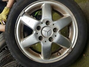 """MERCEDES A CLASS 15"""" INCH ALLOY WHEEL WITH TYRE 195/50/R15"""