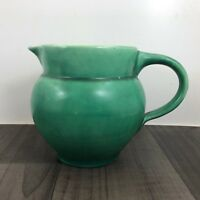 RARE AUTHENTIC ANTIQUE ART DECO C H BRANNAM WATER JUG BARNSTAPLE DEVON POTTERY