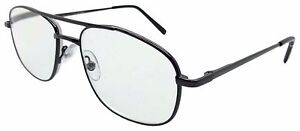 NEW READING GLASSES AVIATION STYLE GUNMETAL GREY SPRUNG ARMS 6 STRENGTHS HARDY
