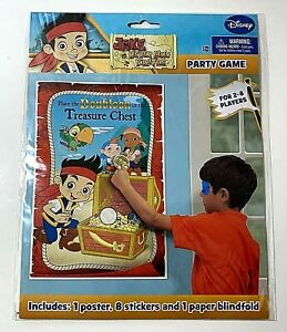 Jake and the Never Land Pirates Birthday Party Game NEW
