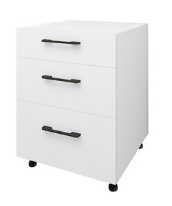 Hardis 3 Drawers Base Kitchen Cabinet
