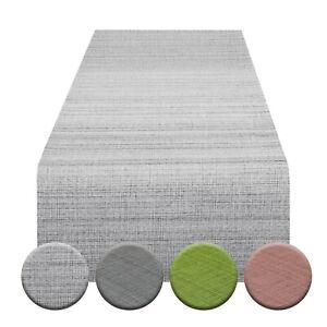 """Indoor- / Outdoor-Tischläufer """"SAMBA"""" 40x140 cm, grau, grün, anthrazit, rosa"""