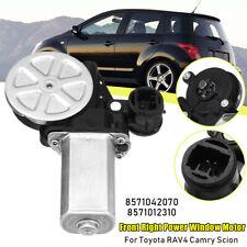 Front Right Passenger Power Window Motor For Toyota RAV4 Camry Scion  +