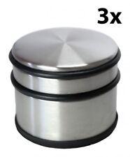 3 Edelstahl Türstopper 1,1 kg Tür Stopper Türpuffer Türfeststeller Türhalter NEU