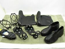 TINGLEY RUBBER OVERSHOES BOOTS MEDIUM RUBBERS STUDDED ICE WINTER ASSORTMENT 5 PR