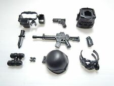 (no.9-99) custom swat police NAVY SEAL gun army weapons for LEGO minifigure