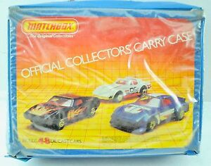 Vintage Matchbox Officials Collector's Carry Case