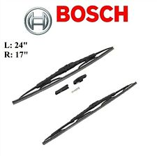 2PCS BOSCH FRONT L&R D-Connect Wiper Blade For LEXUS LFA 2012/LS460 2007-2017