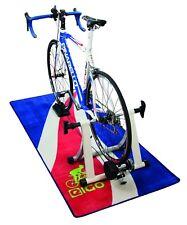NUOVO Eigo Turbo Trainer FLOOR MAT BLU flusso-ciclo bici bicicletta triathlon