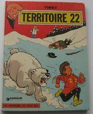 LES AVENTURES DE CHICK BILL TERRITOIRE 22 TIBET 1975 BON ETAT