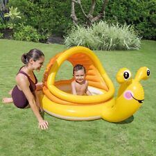 Swimming Pool Yellow Snail Inflatable Paddling Pool Summer Children Play Pool Birthday Gift Non-Ironing