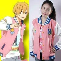Free! Iwatobi Swim Club Nagisa Hazuki Cosplay Jacket Coat Unisex customize