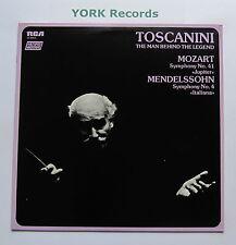 VL 46014 - MOZART - Sym No 41 / MENDELSSOHN Sym No 4  TOSCANINI - Ex LP Record