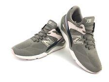 New Balance X90 Grey Blue Pink Running Shoe Sneaker Fashion Womens Sz 9.5 EUC