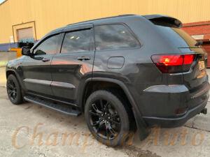 Jeep Grand Cherokee Side Steps 2011-2021 Black Powder Coated Steel(Raptor Style)