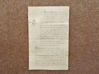 1788 Adwalton Leeds Yorkshire 18th century manuscript paper Deed Document
