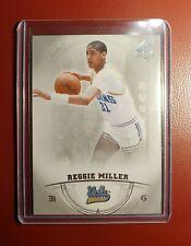 2013-14 NBA 🏀 UPPER DECK SPA REGGIE MILLER UCLA Card in mint condition..