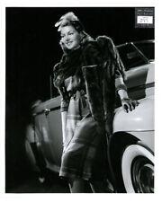 LANA TURNER Vintage ACADEMY USED Original 1941 Gel Silver DBLWT WILLINGER PHOTO