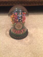 Franklin Mint Beatles - Sgt Pepper's Lonley Heart Club Band Musical Bell Jar.