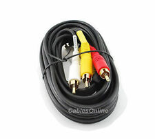 3 ft. 3-RCA to 3-RCA Composite Audio/Video Cable AV-503