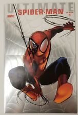 SIGNED STAN LEE Ultimate Comics Spider-Man #1 2009 Silver Foil Edition Cover