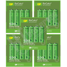 20 x GP ReCyko + 1300 mAh AA baterías recargables de Ni-mh HR6 LR6