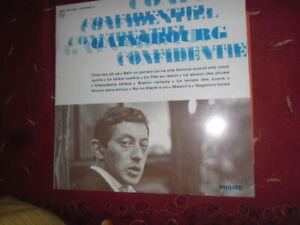 "SERGE GAINSBOURG  - 33 TOURS - ""CONFIDENTIEL"" - NEUF - SCELLE -"
