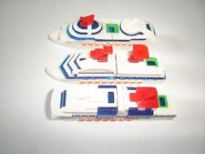 CRUISE LINERS 2002 MODEL BOATS & SHIPS SET - KINDER SURPRISE TOYS MINIATURES