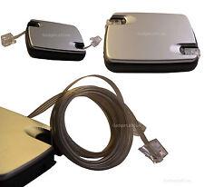 RJ11 a RJ11 Cavo ADSL modem a banda larga Router Internet Cavo retrattile 2.4 m