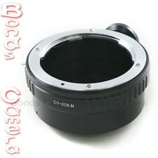 Contax Yashica lens To Canon EOS M EF-M mount Mirrorless Camera Adapter tripod
