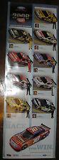 2009 FORD TAURUS NASCAR POSTER CARL EDWARDS GREG BIFFLE BILL ELLIOTT DAYTONA 500
