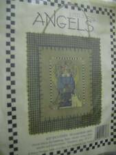 Little Angels Cross Stitch Kit With Scissor Charm 4x5 Inches, Banar Designs, 199