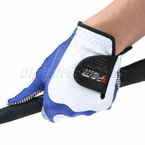 Anti Skid Gloves Men Golf Gloves Left Right Hand Breathable 5 Size Professsional