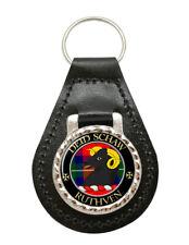 Ruthven Scottish Clan Leather Key Fob