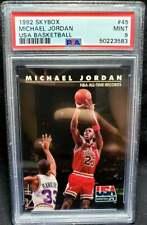 Michael Jordan 1992 Skybox USA Team #45 PSA 9 Mint HOF Chicago Bulls 1992-93